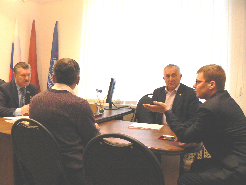 Встреча с депутатом Мосгордумы Сивко Владимиром Вячеславовичем.