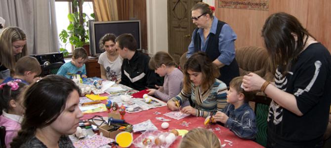 Мастер-классы по подготовке к святому празднику Пасхи в КЦСО Тверской