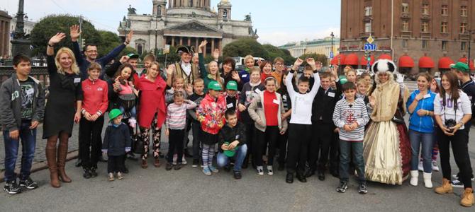 Школьники-экологи отправились в Санкт-Петербург