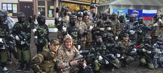 Спортивный праздник для детей из Луганской области
