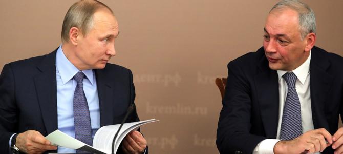 «Маяки дружбы. Башни Кавказа»-2017 презентовали Владимиру Путину.
