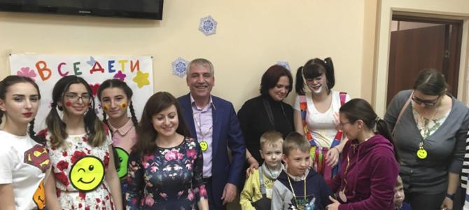 Международный день инвалида в Отделении социальной реабилитации детей-инвалидов (ОСРДИ)