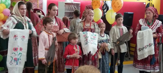 Праздник весны для детей-инвалидов Тушино