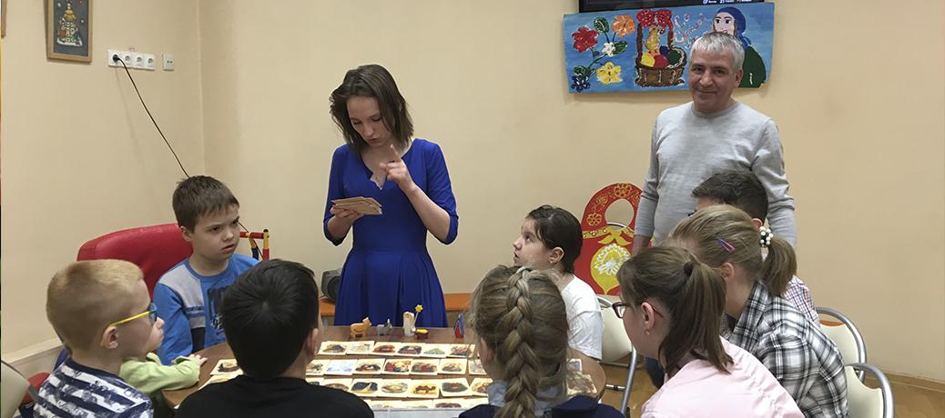 Праздник Святой Пасхи в ГБУ ТЦСО Тушино